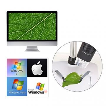 Crenova USB-Mikroskop mit HD Kamera