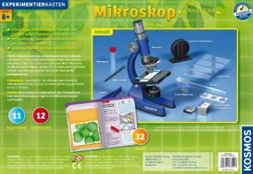 KOSMOS Mikroskop für Natur-Entdecker – Einfaches Durchlichtmikroskop