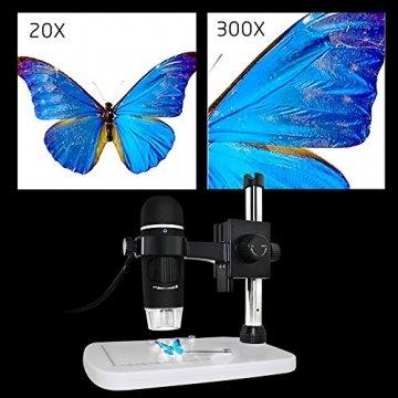 MAOZUA 5MP USB Mikroskop 20x-300x